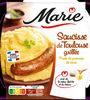 Saucisse de Toulouse grillée & purée au beurre - Product