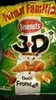Bénénuts 3D's Bugles Goût fromage format familial - Producto