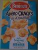 Apéro Cracks Fins & Croustillants goût Nature - Product