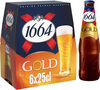 1664 6x25cl gold 6.1 degre alcool - Product