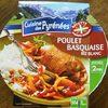 Poulet basquaise, riz blanc, 300g - Product
