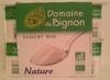 Yaourt Bio Nature - Produit