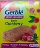 Barre Cranberry - Produit