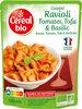 Ravioli tomates tofu & basilic - Produit
