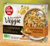Les Cuisinés Veggie - Couscous aux émincés soja & blé - Produit