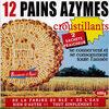 12 Pains Azymes Croustillants - Product