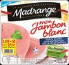 Jambon blanc porcs élevés sans antibiotique dès la fin du sevrage - lot 2+1 offert - Produit
