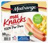 Mes Knacks 100% pur porc x10 - Produit