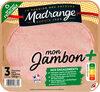 Mon Jambon + 3tr sans couenne - Product