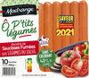 Recette de saucisses fumées aux légumes du soleil Ô p'tits Légumes - Produit