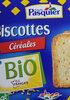 Biscottes céréales bio - Prodotto