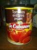 tomates entières pelées - Product