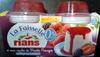 Faisselle et coulis de fruit rouge 0% - Prodotto