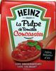 La Pulpe de Tomates Concassées 390 g - Heinz - Produit