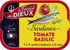 1/6 sardines tomate et basilic - Product