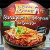 Lasagnes à la Bolognaise (Pur Bœuf) Bio - Produit