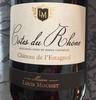 vin rouge côte du Rhône - Produit