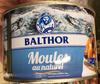 Moules au naturel - Produit