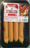 4 Saucisses cuites à griller épicée - Product