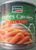 Jeunes carottes - Produit