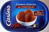 Crème glacée au chocolat avec des pépites de chocolat Casino - Product
