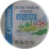 Crème fraîche épaisse légère - 15% de matères grasses - Product