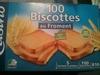 Biscottes au froment 100 Tranches - Produit