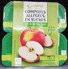 Compote Allégée Pommes - Product