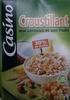 Casino croustillant aux céréales et aux fruits - Product