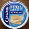 Thon Albacore au naturel - Produit
