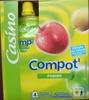 Compot' Pomme - Allégée en sucres - 30% de sucres en moins - Producto
