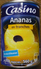 Ananas en tranches au jus d'ananas - Product