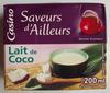LAIT DE COCO 200ML UHT - Product