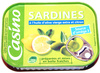 Sardines à l'huile d'olive vierge extra et citron - Produit