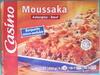Moussaka (Aubergine - Bœuf), Surgelée - Product