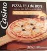 Pizza Bûche de chèvre cuite au feu de bois - Produit