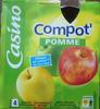 Gourde de compote Pommes - Product