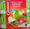 Compote allégée Pommes Fraises - Product