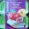 Compote allégée - Pommes Figues Cannelle - Prodotto