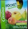 Compot' Pomme abricot - Pomme poire - Allégée en sucres 30% de sucres en moins - Product