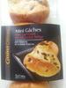 8 mini gâches aux carreaux de chocolat, au beurre et à la crème fraîche - casino delices - Produit
