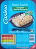 Lasagnes au chèvre et aux épinards - Product