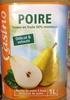 Poire teneur en fruits 50% minimum - Produit