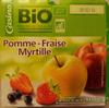Compote Pomme - Fraise - Myrtille - Produit