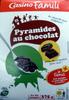 Pyramides au chocolat - Produit