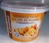 Fromage frais aux dés de pommes caramélisés - Product