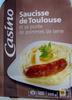 Saucisse de Toulouse et purée de pommes de terre - Product