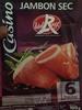 Jambon sec Label Rouge - Prodotto
