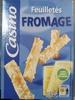 Feuilletés Fromage - Produit