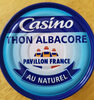 Thon albacore au naturel - Prodotto